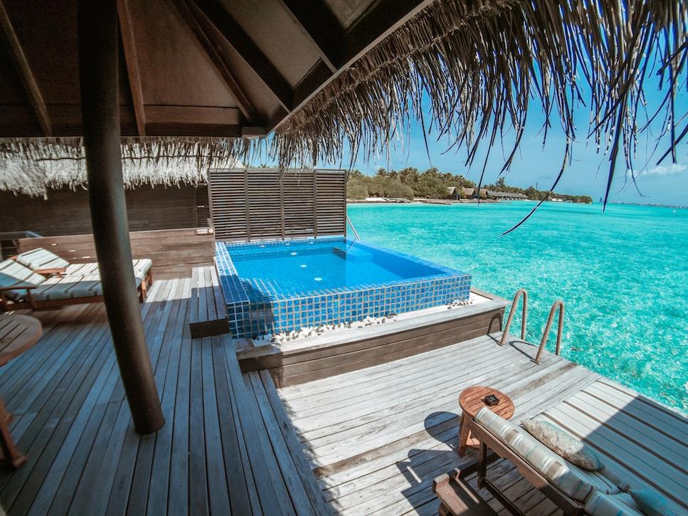 Villa in maldives