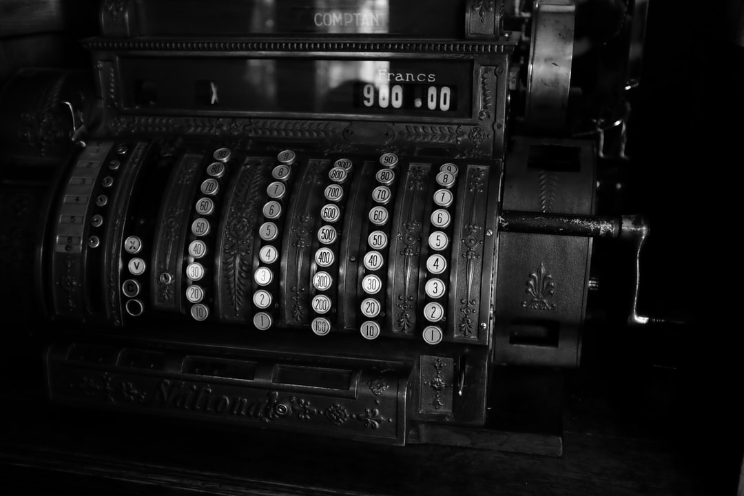 Сash register vintage