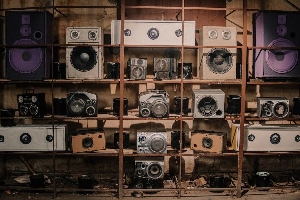 brown and black vintage camera