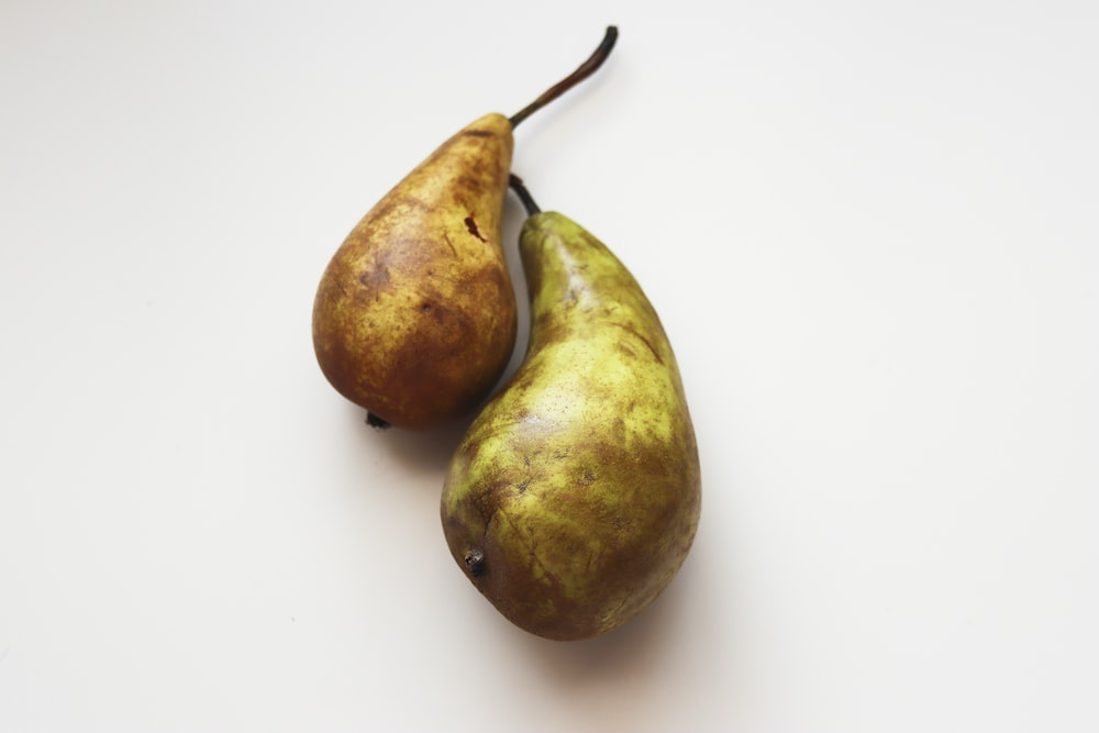 yellow and green oval fruit
