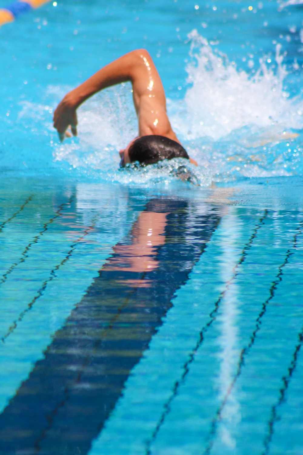 person in water during daytime