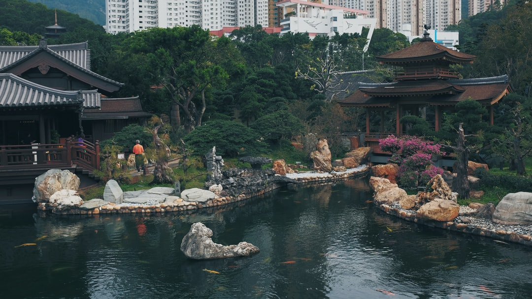 The Nan Lian Garden is a Chinese Classical Garden in Diamond Hill, Hong Kong. The garden has an area of 3.5 hectares. It is designed in the Tang Dynasty-style with hills, water features, trees, rocks and wooden structures. The garden was a joint project of the Chi Lin Nunnery and the Hong Kong Government.