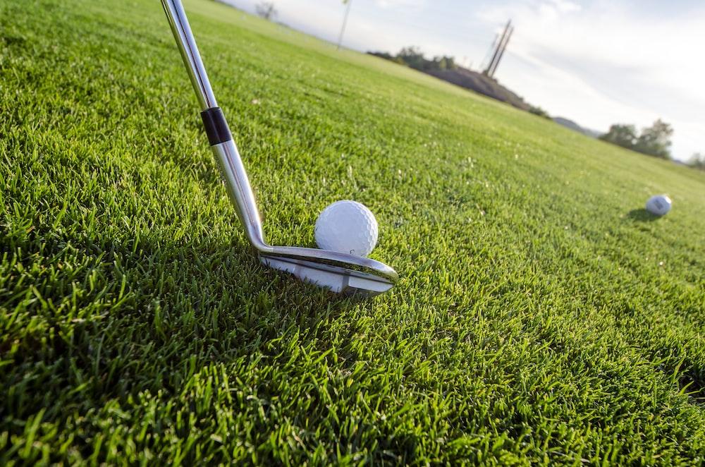 golf club on golf course