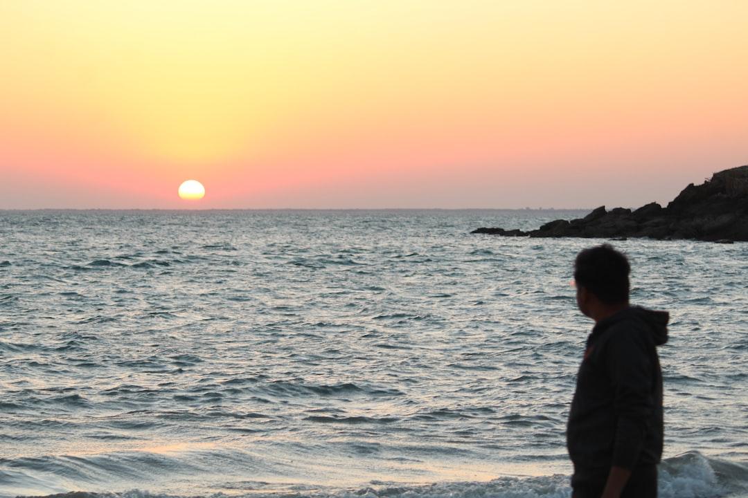 Sunrise near Sea