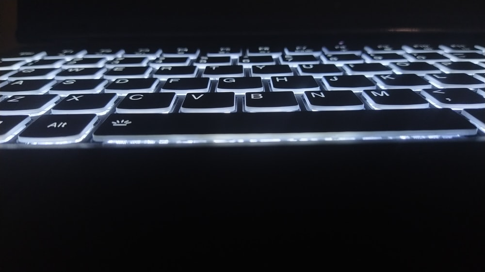 silver and black computer keyboard