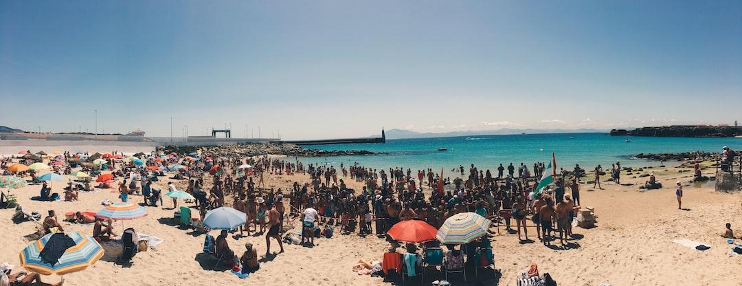 Beach at Tarifa,Spain.