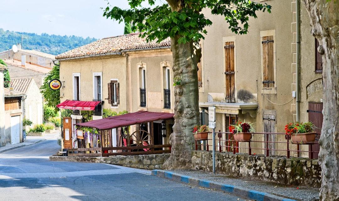 Bar-Restaurant de l'Abbaye, St Hilaire, Aude, FRANCE