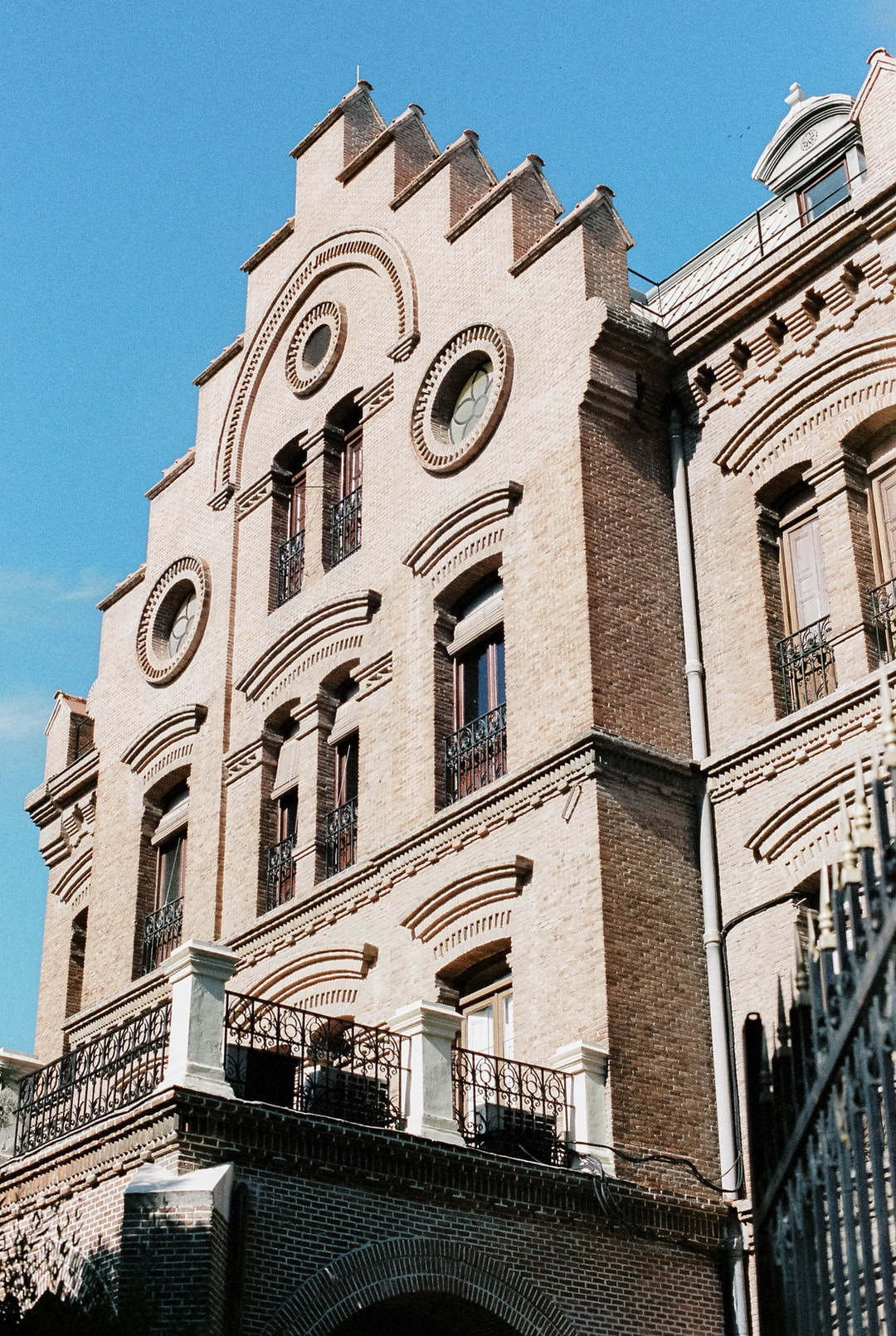 Late XIX school building in Madrid