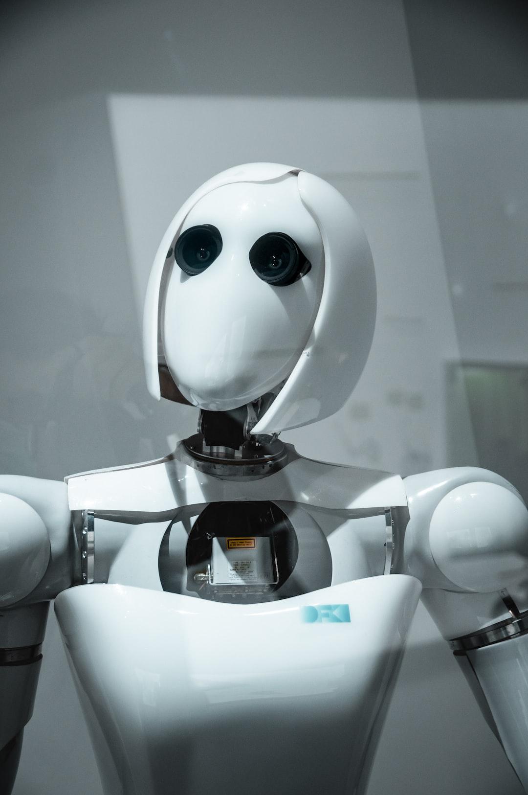 the humanoid AI powered robot AILA of DFKI displayed at Futurium in Berlin