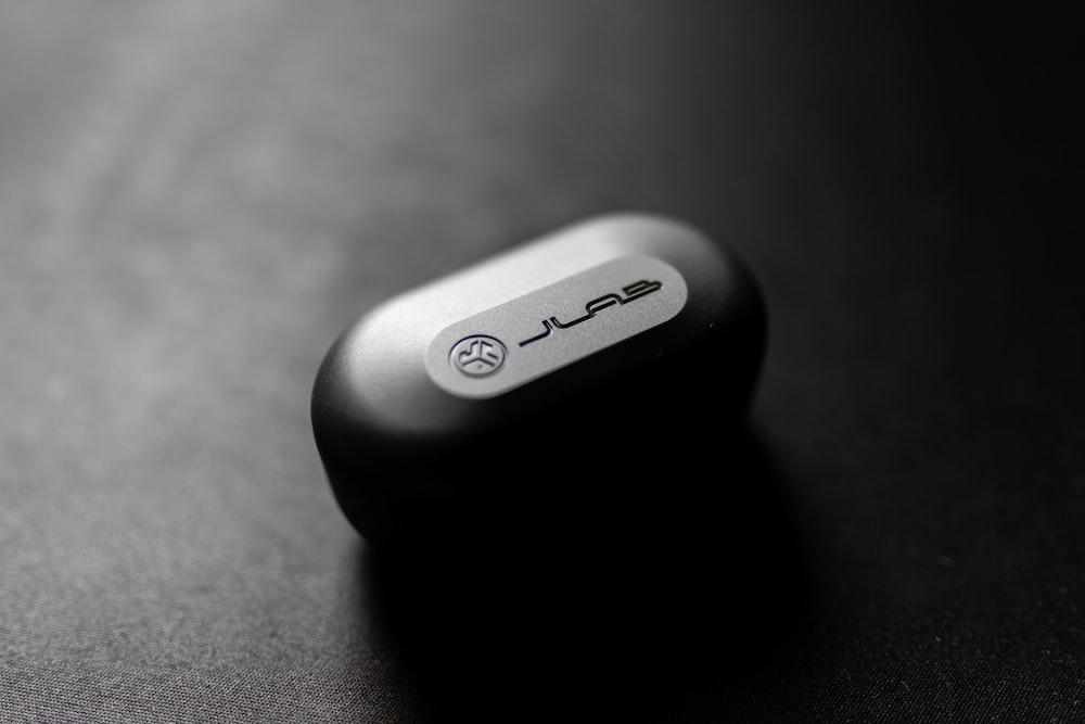 black and gray plastic case
