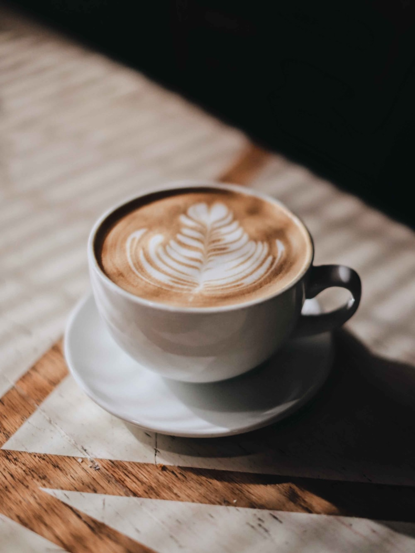 White Ceramic Cup Wi-tabitha turner