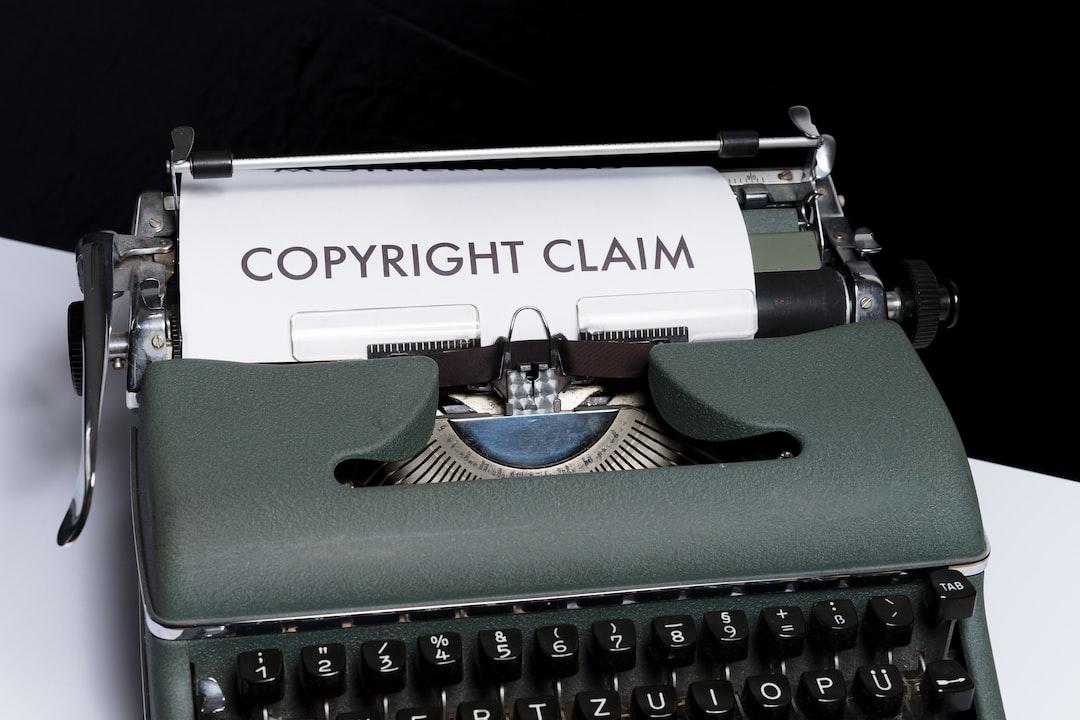 Copyright Claim