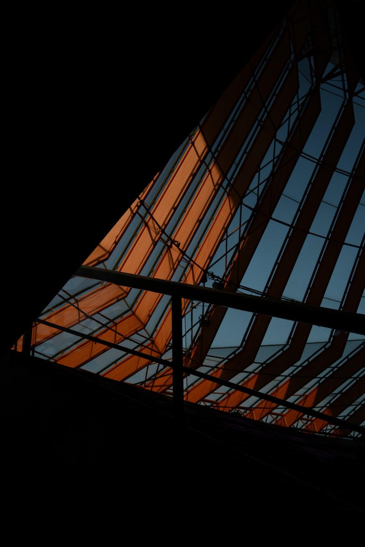 brown metal frame during daytime