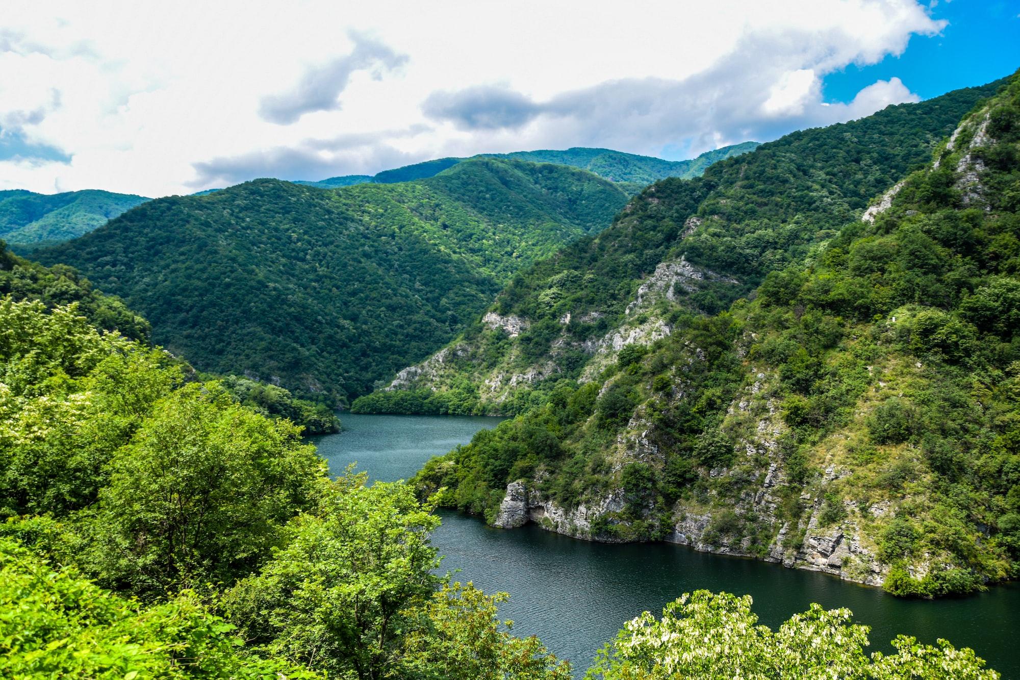 fjord en Bulgarie