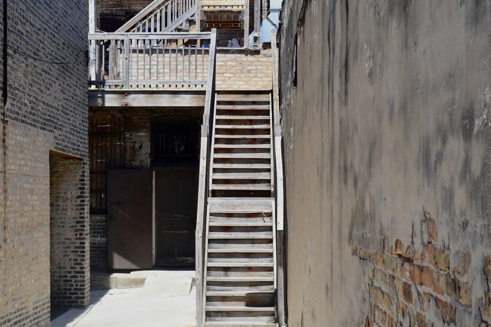 gray concrete stairs during daytime