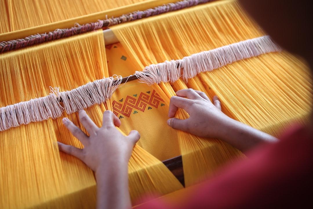 Toraja Indonesia Weaving