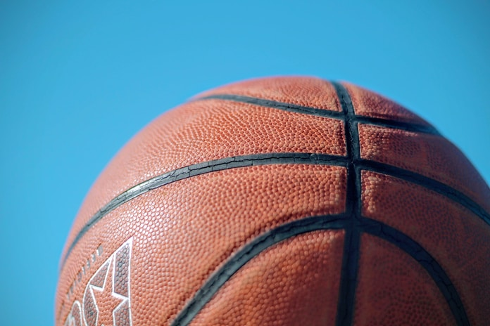 brown basketball under blue sky during daytime
