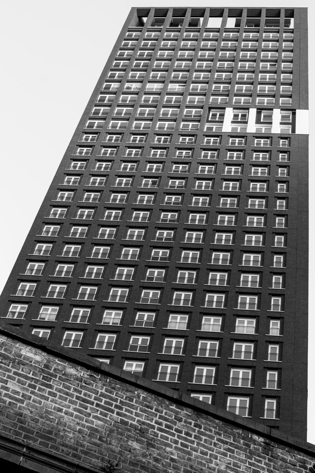 Another new apartment block in Vauxhall, London, UK