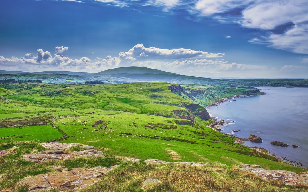 The North Coast and the Glens of Antrim from Fair Head (Jun., 2020).