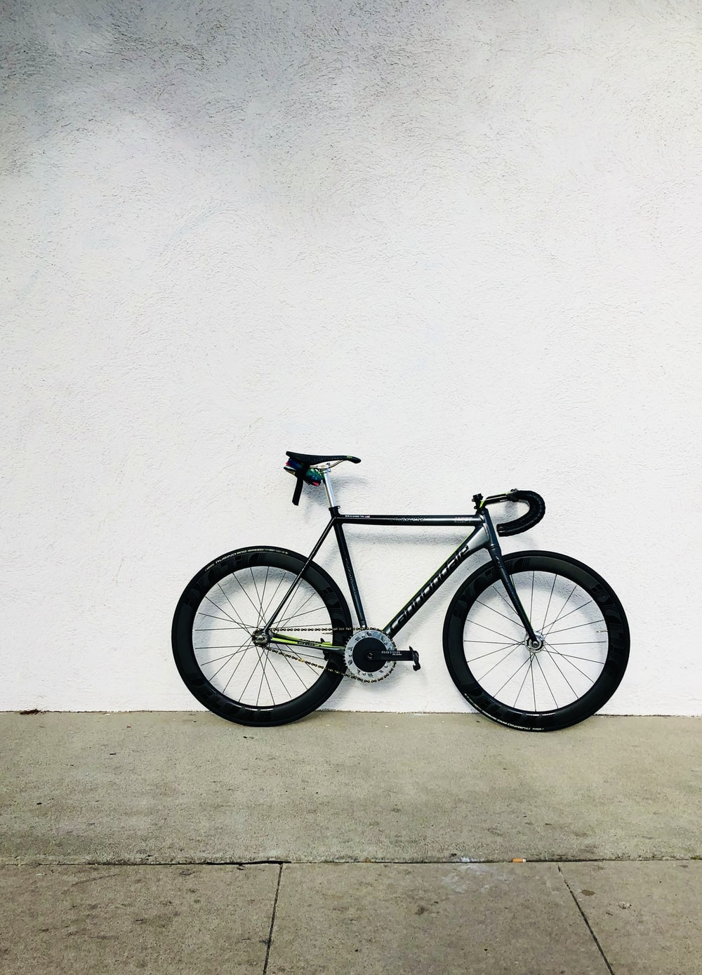 black and gray city bicycle