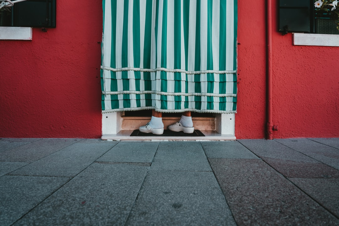 White and Brown Pet Bed Beside Green and Red Wall - unsplash