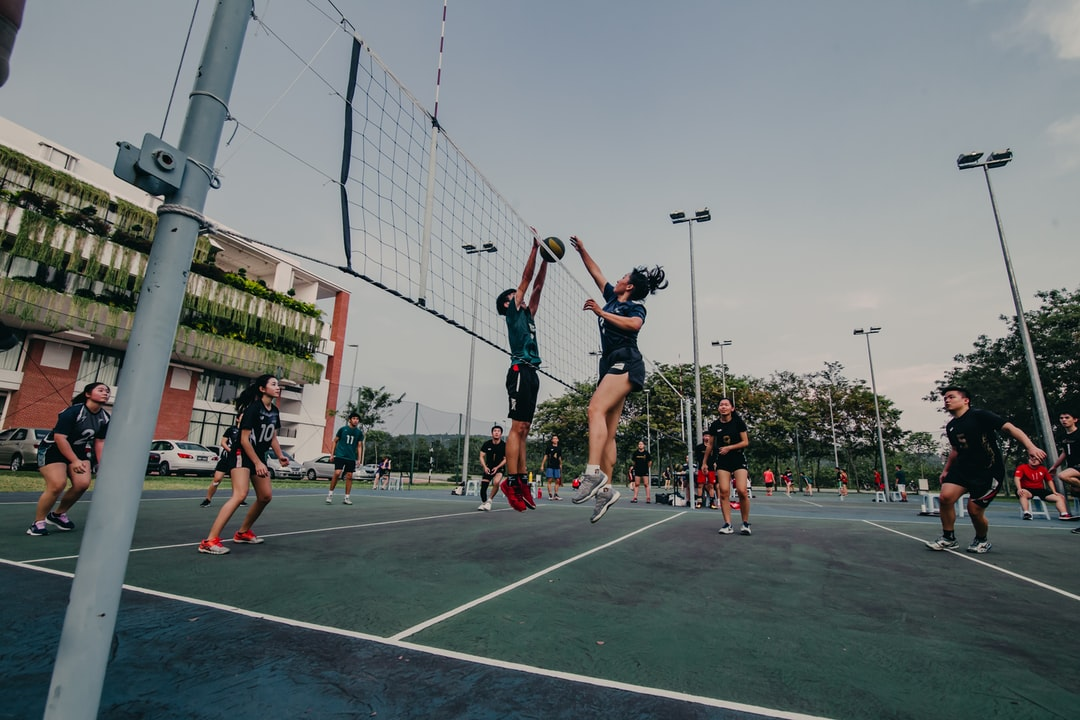 Volleyball tournament during Sport Month in XMUM