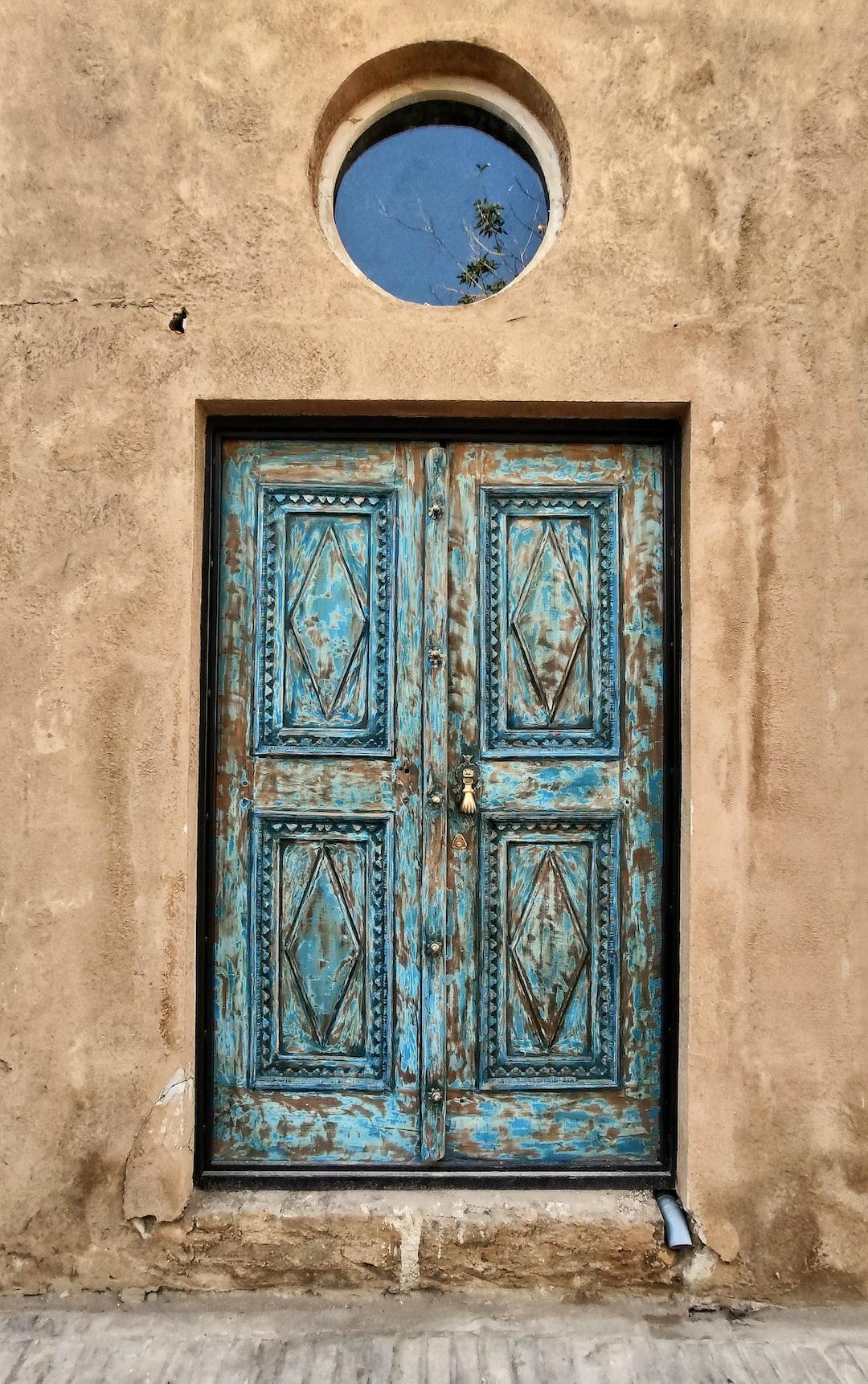A beautiful old door in Yazd...