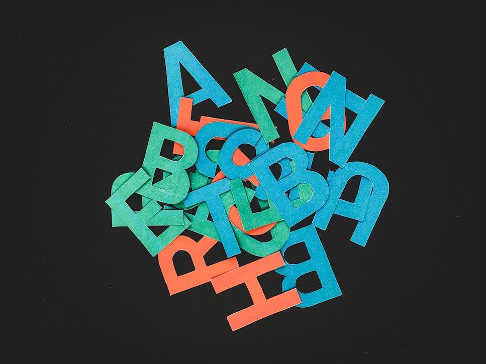 حروف الأبجدية الإنجليزية | English alphabet letters