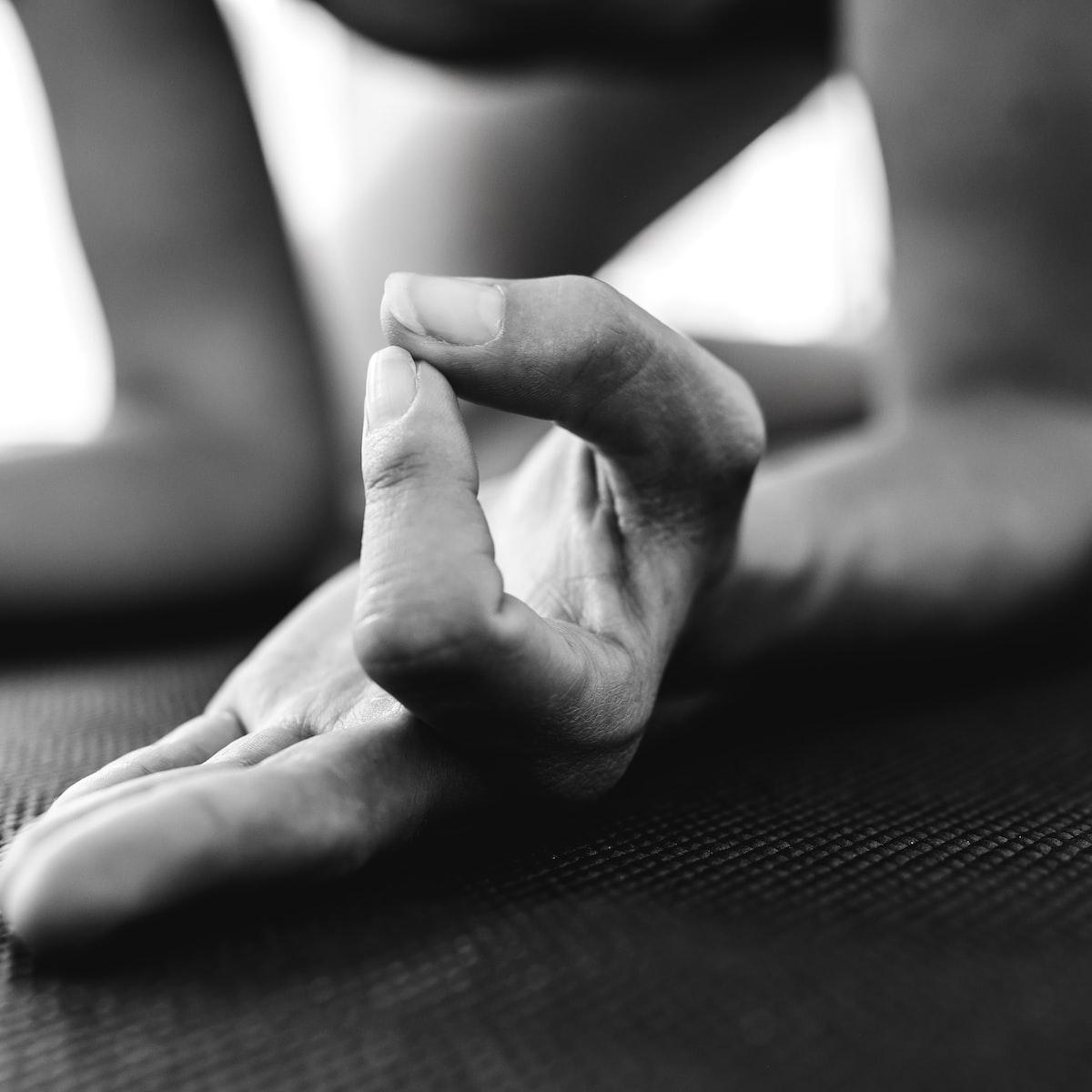 Yoga illustration photo