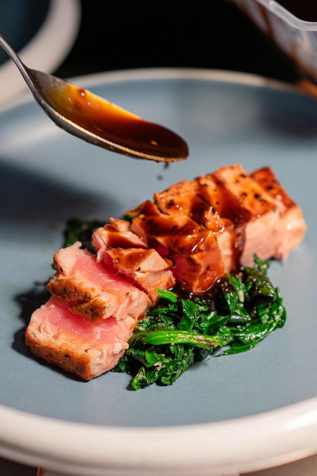 Nice colors and compo - Tuna Teriyaki by Chef Stephane