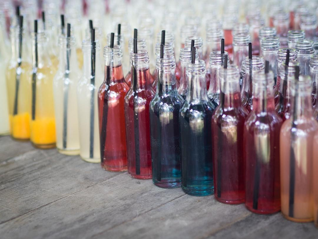 Drinks in bottles