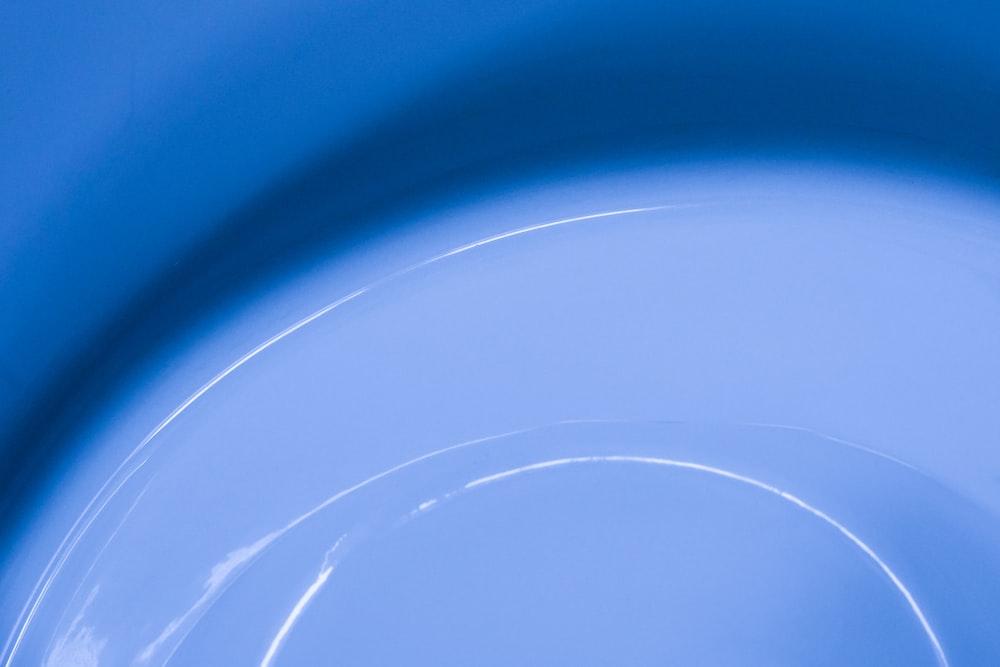 blue and white light illustration