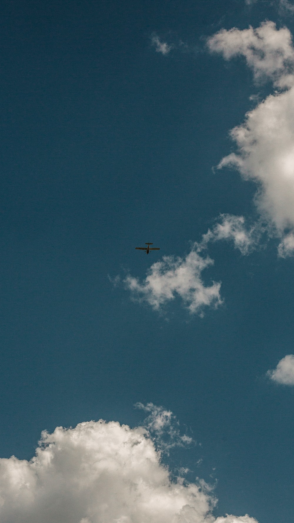 airplane in the sky during daytime