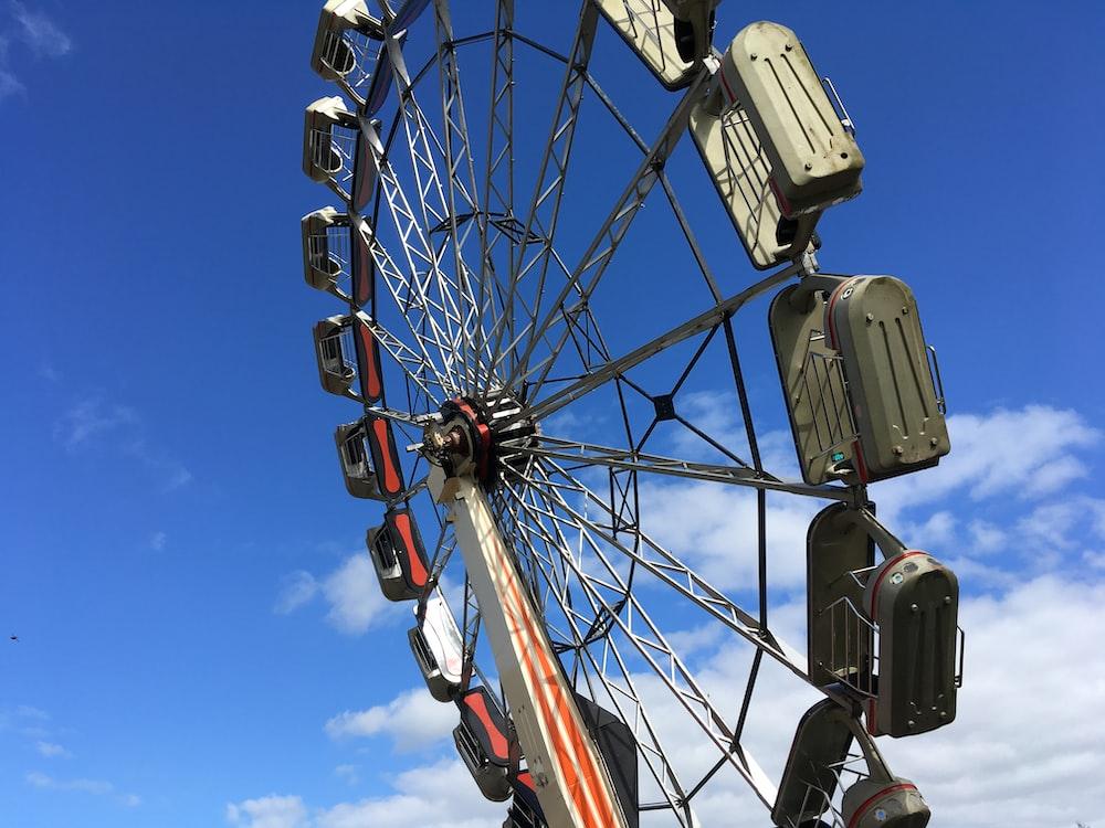 ferris wheel under blue sky during daytime