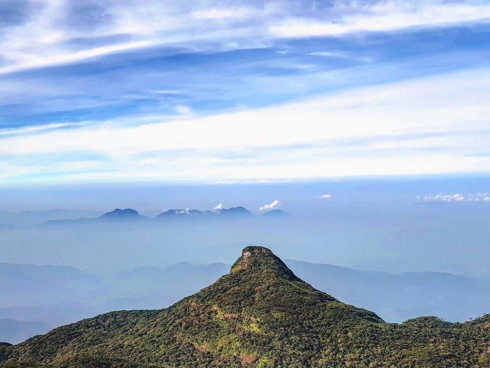 Adam's peak. Sri Lanka