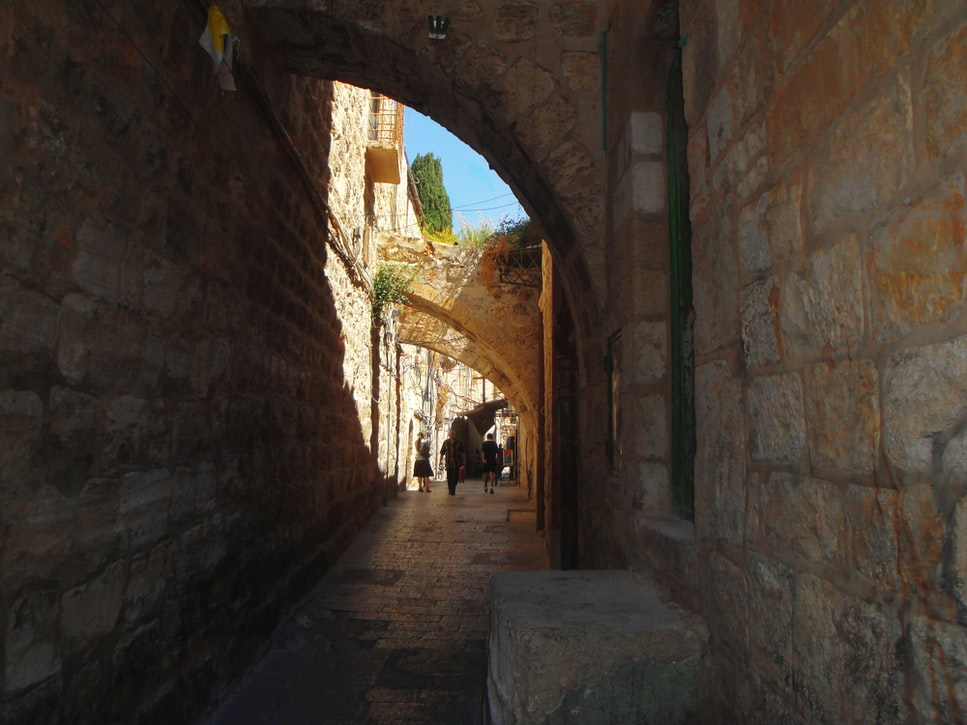 Masjid Al-Aqsa, di Kota Tua Yerusalem, Palestina.
