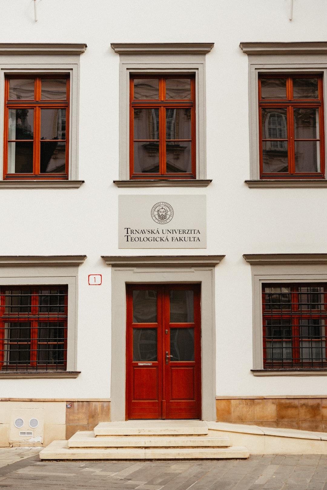 Faculty of Theology, Trnava University.