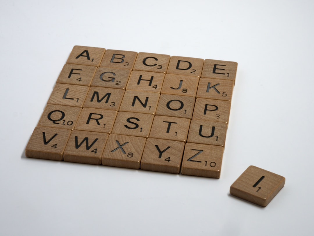scrabble, scrabble pieces, lettering, letters, white background, wood, left out, excluded, exclusion,