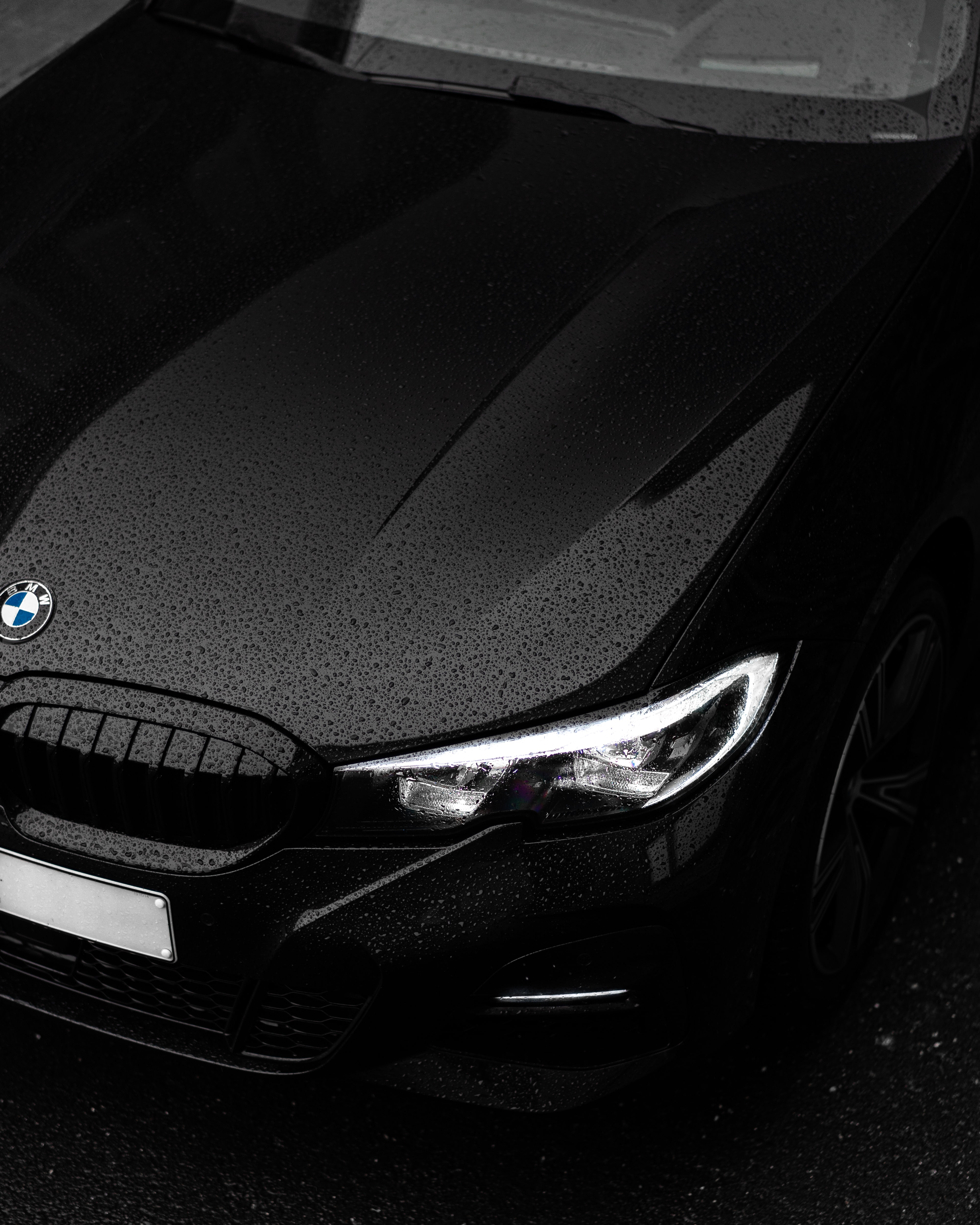 Black Bmw Car In Close Up Photography Photo Free Tire Image On Unsplash