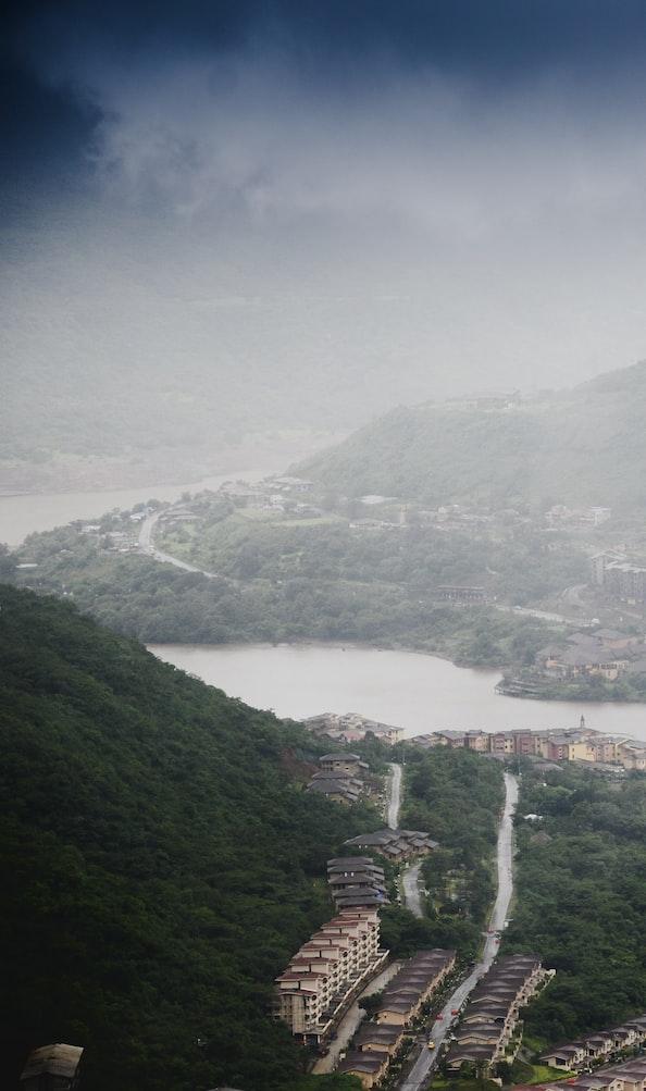 Lavasa city view