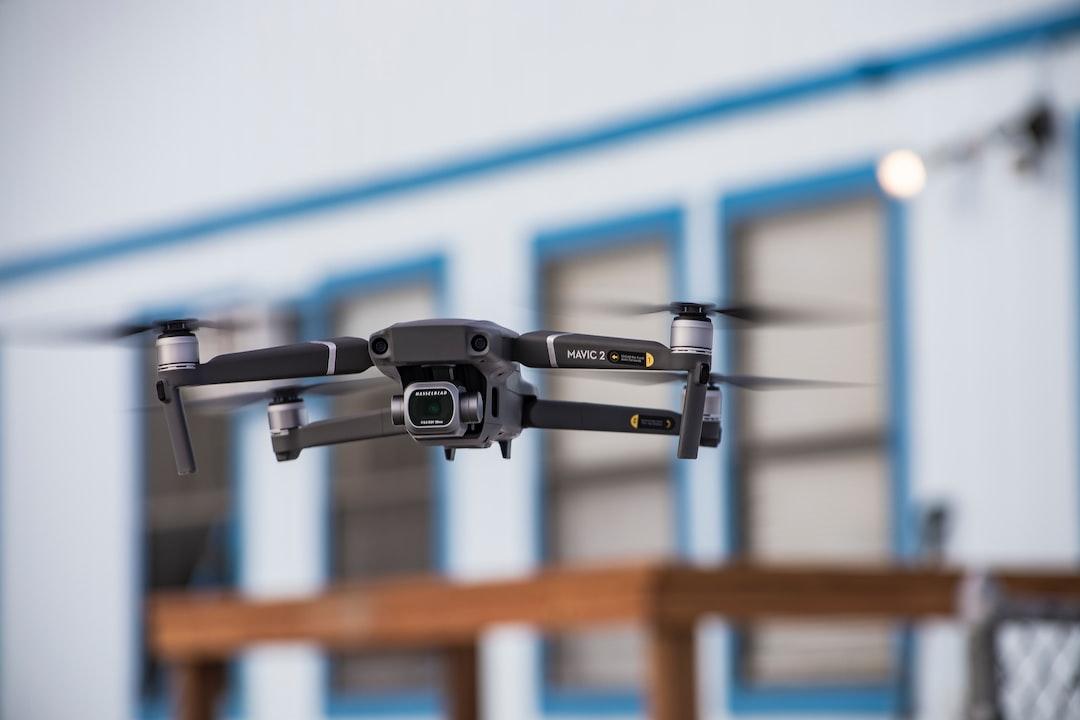 Mavic 2 Drone in Flight