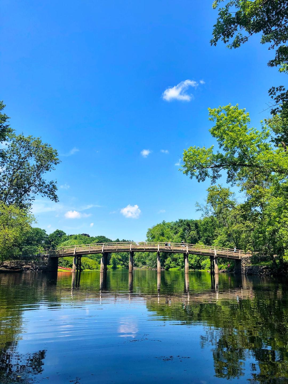 Old North Bridge in Concord, Massachusetts