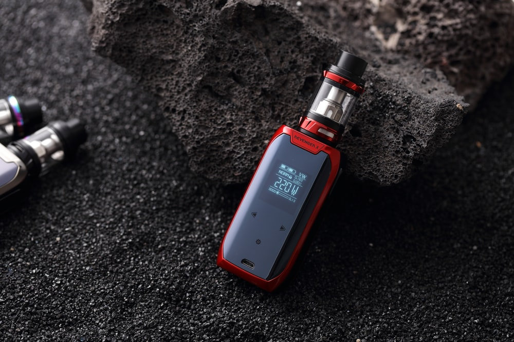 red and black box mod