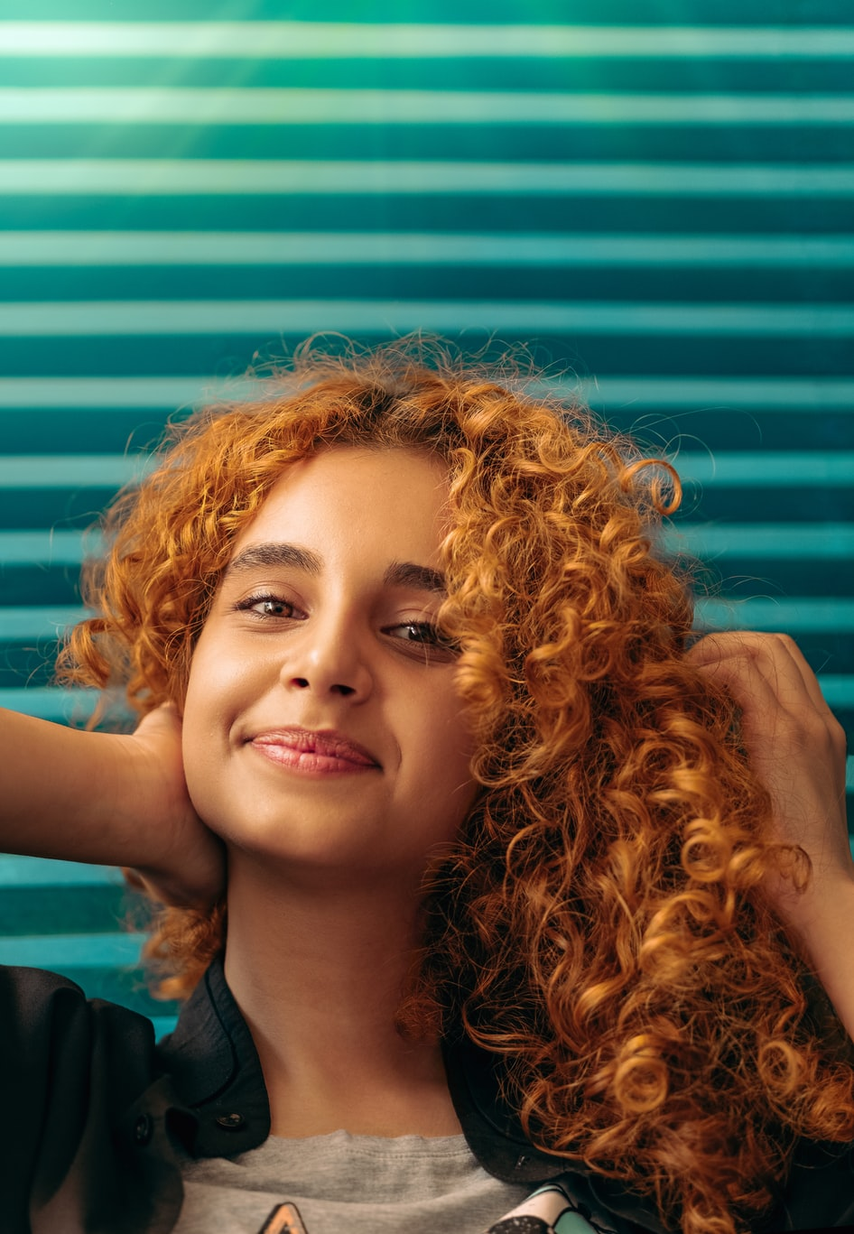 zala hairstyle says about you curly