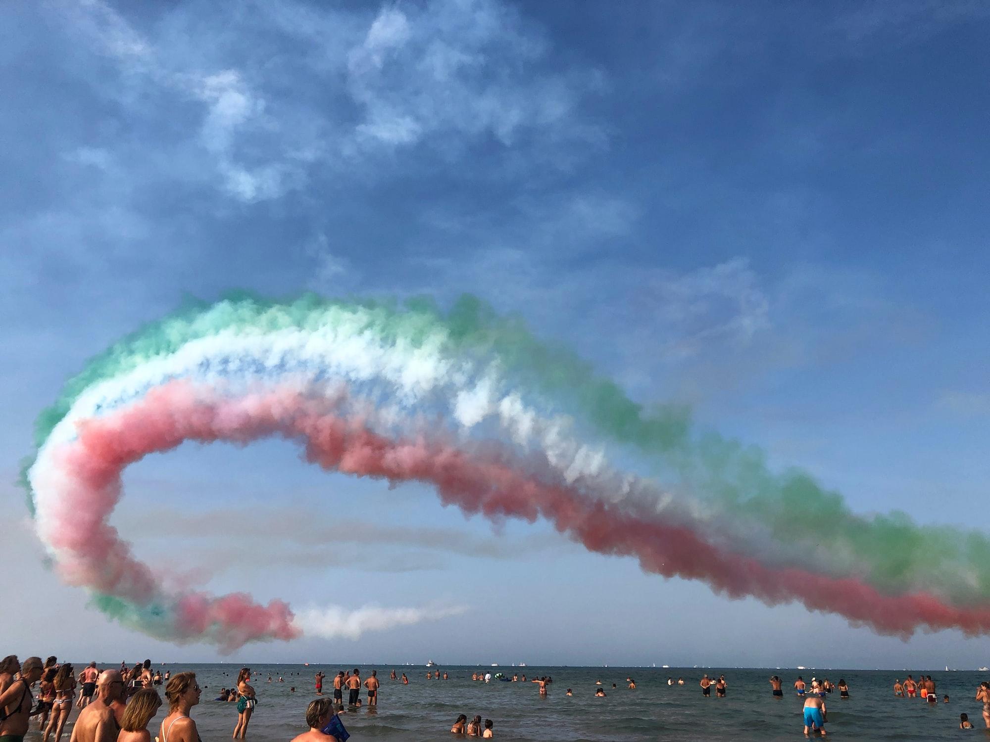 """""""Rimini Air Show"""", September the 1st, 2019"""