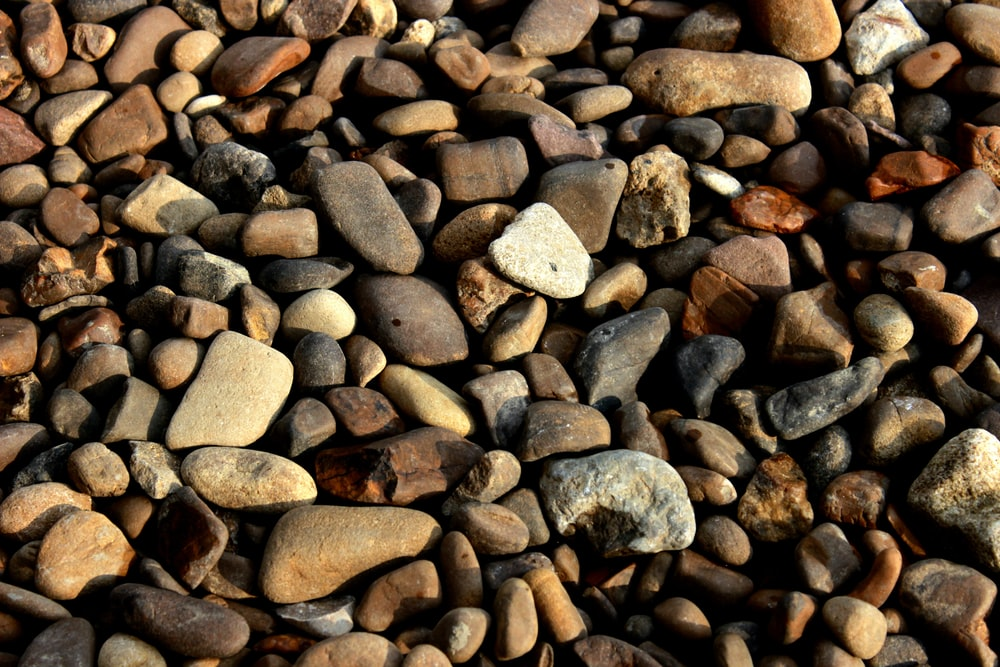 brown and gray stones during daytime