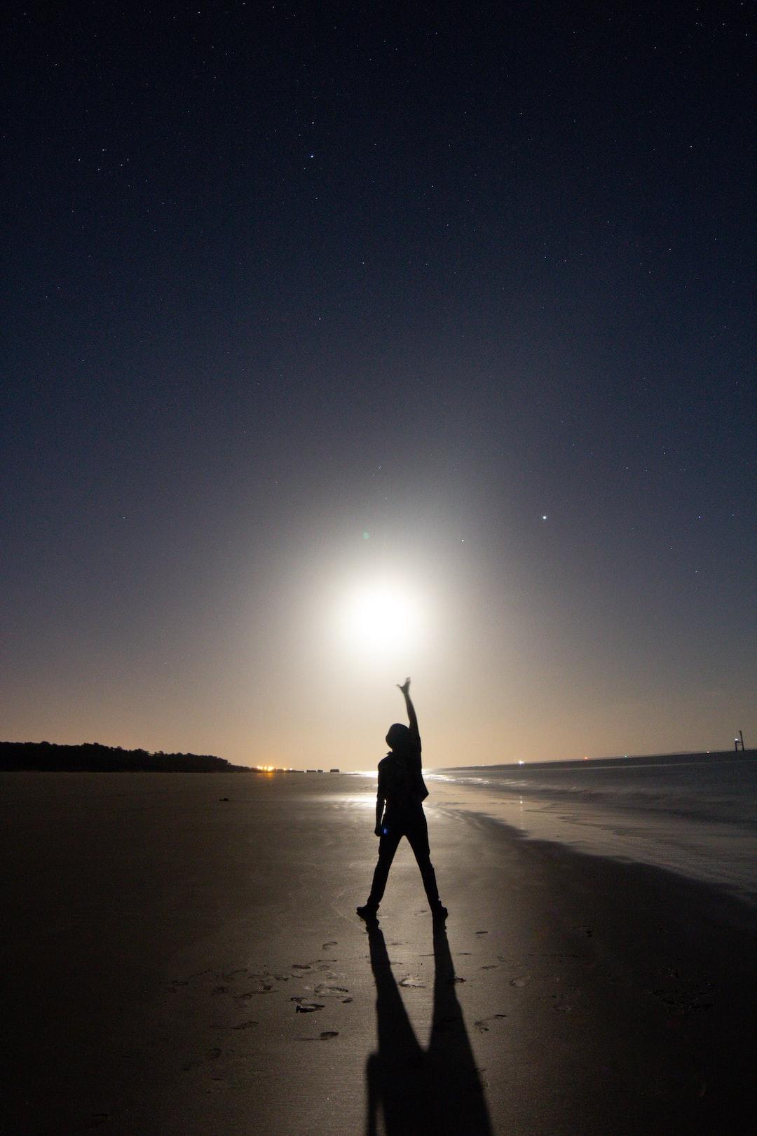Genkidama at the beach