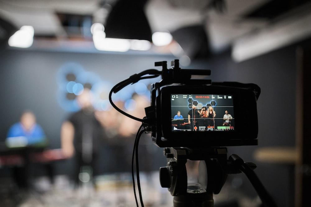 camera filme pour chaine youtube