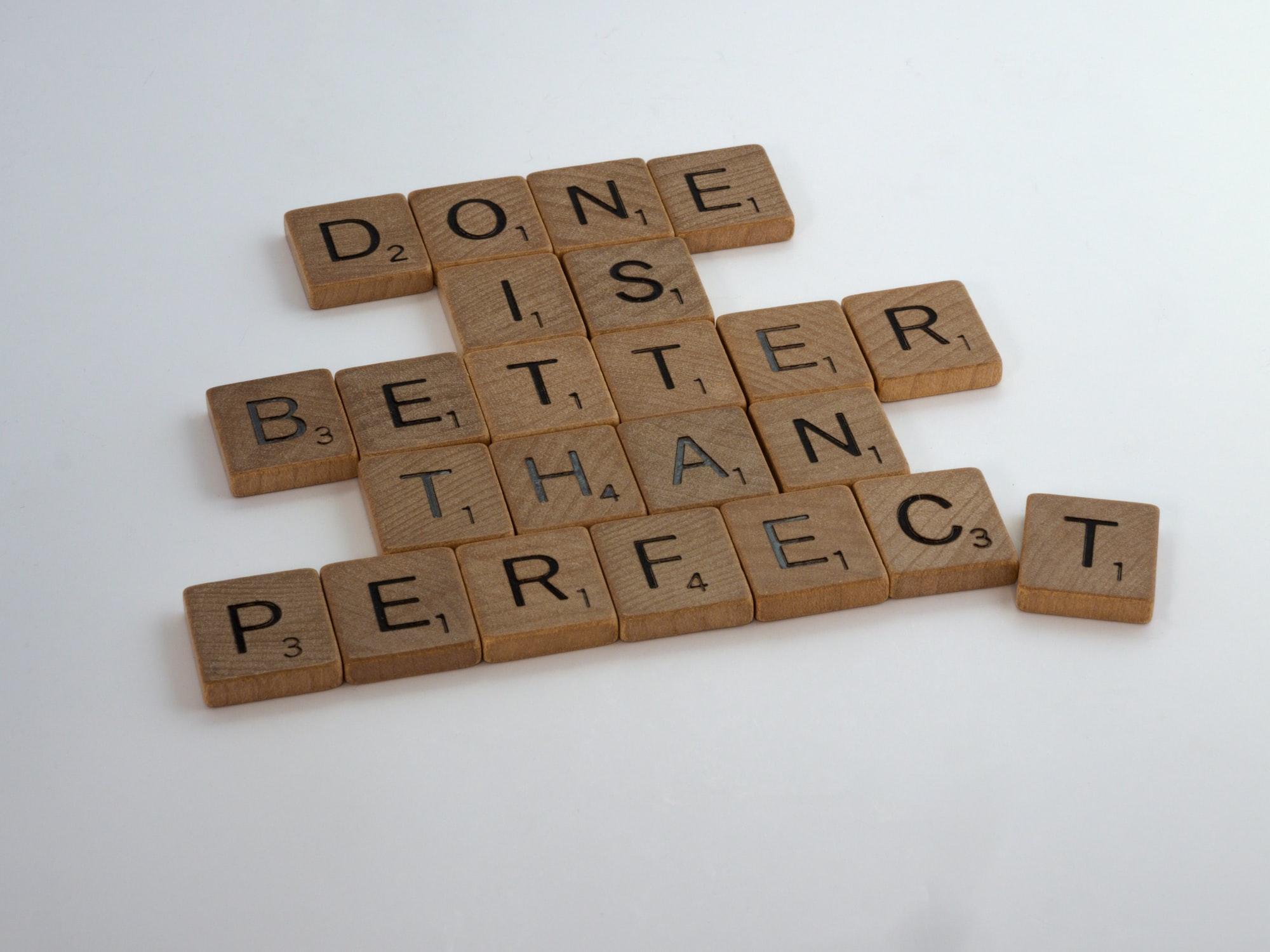 Как оверсинкинг и перфекционизм мешают мне заканчивать проекты