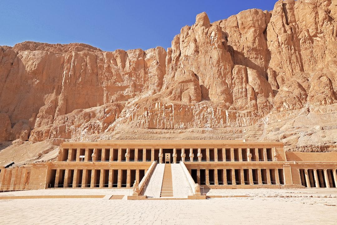 Mortuary Temple of Hatshepsut, Egypt.
